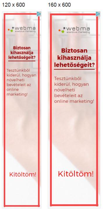 példa szöveges hirdetés megfelel a webhelyről)
